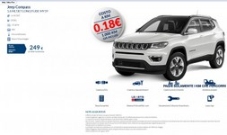 JEEP COMPASS pay per use plus